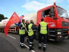 Strajk kierowców Shella
