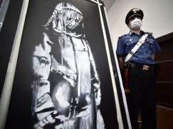 Policja aresztowała sześć osób zamieszanych w kradzież obrazu Banksy'ego