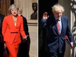 Theresa May zaatakowała Borisa Johnsona za plany kwarantanny i podejście do Brexitu