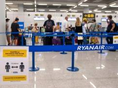 Ilu pasażerów zdecydowało się na podróż Ryanairem po wznowieniu lotów? Tania linia lotnicza podała statystyki z lipca