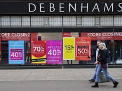 Likwidacja sklepów Debenhams - od jutra słynna sieć rusza z wyprzedażą ze zniżkami do 70%