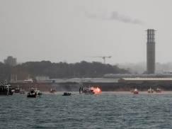 Napięcie na linii UK-Francja w Jersey. Okręty marynarki wojennej patrolują sporny obszar połowowy