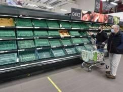 Co czwarty supermarket w UK ma problem z zapełnieniem półek. Wszystkiemu winny jest brak kierowców tirów