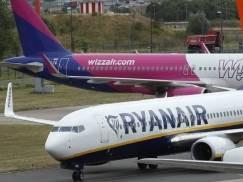 Ryanair i Wizz Air odnotowały po raz drugi rekordową liczbę pasażerów od początku pandemii