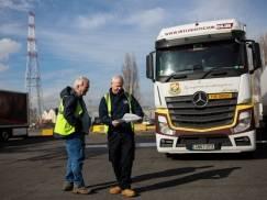 Największy związek zawodowy grozi strajkiem kierowców ciężarówek tej zimy. Będą problemy z dostawami na święta