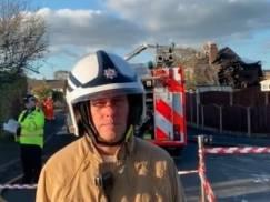 W Lancashire zawalił się dom w wyniku eksplozji. Są ofiary śmiertelne [wideo]