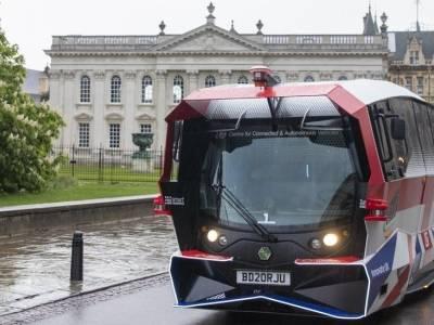 Autonomiczny autobus będzie kursował po Cambridge - to pierwszy taki przypadek w historii UK