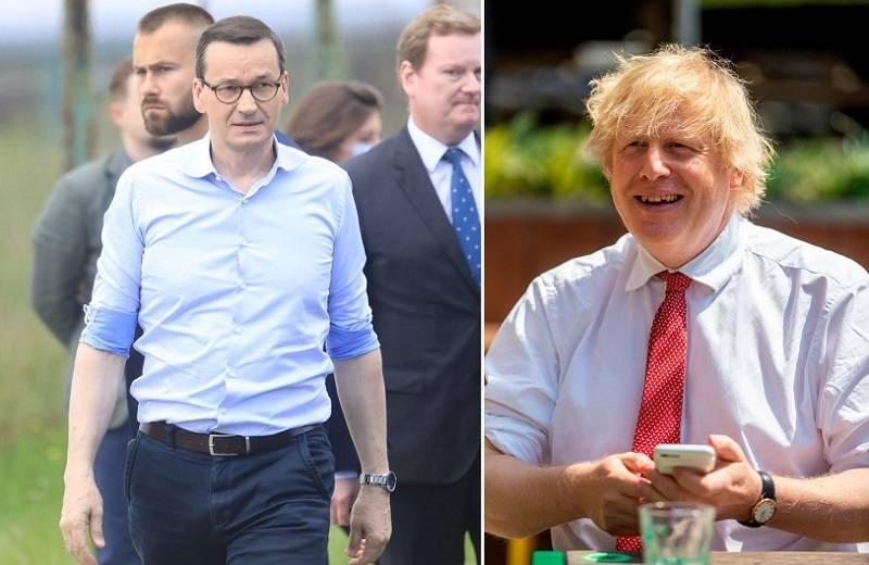 """Rozmowa Borisa Johnsona z Morawieckim: Wielka Brytania gotowa jest na """"warunki australijskie"""" w przypadku twardego Brexitu"""