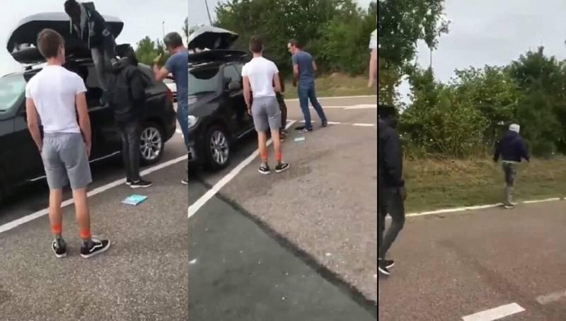 Wściekłość brytyjskiej rodziny jadącej na wakacje: w bagażniku ich samochodu chowało się dwóch imigrantów!