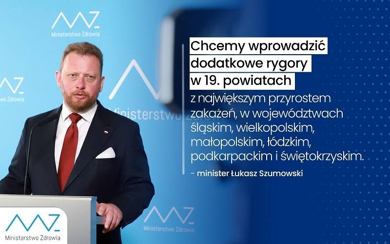 Padł rekord zakażeń w Polsce. Nasz kraj znajdzie się na liście krajów, z których przyjezdni do UK będą objęci kwarantanną?