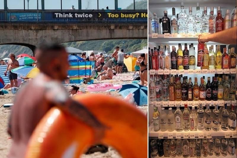 Dorset: Pijany plażowicz oddał mocz prosto na piasek i próbował zagrzebać go jak kot - na oczach dzieci [WIDEO]