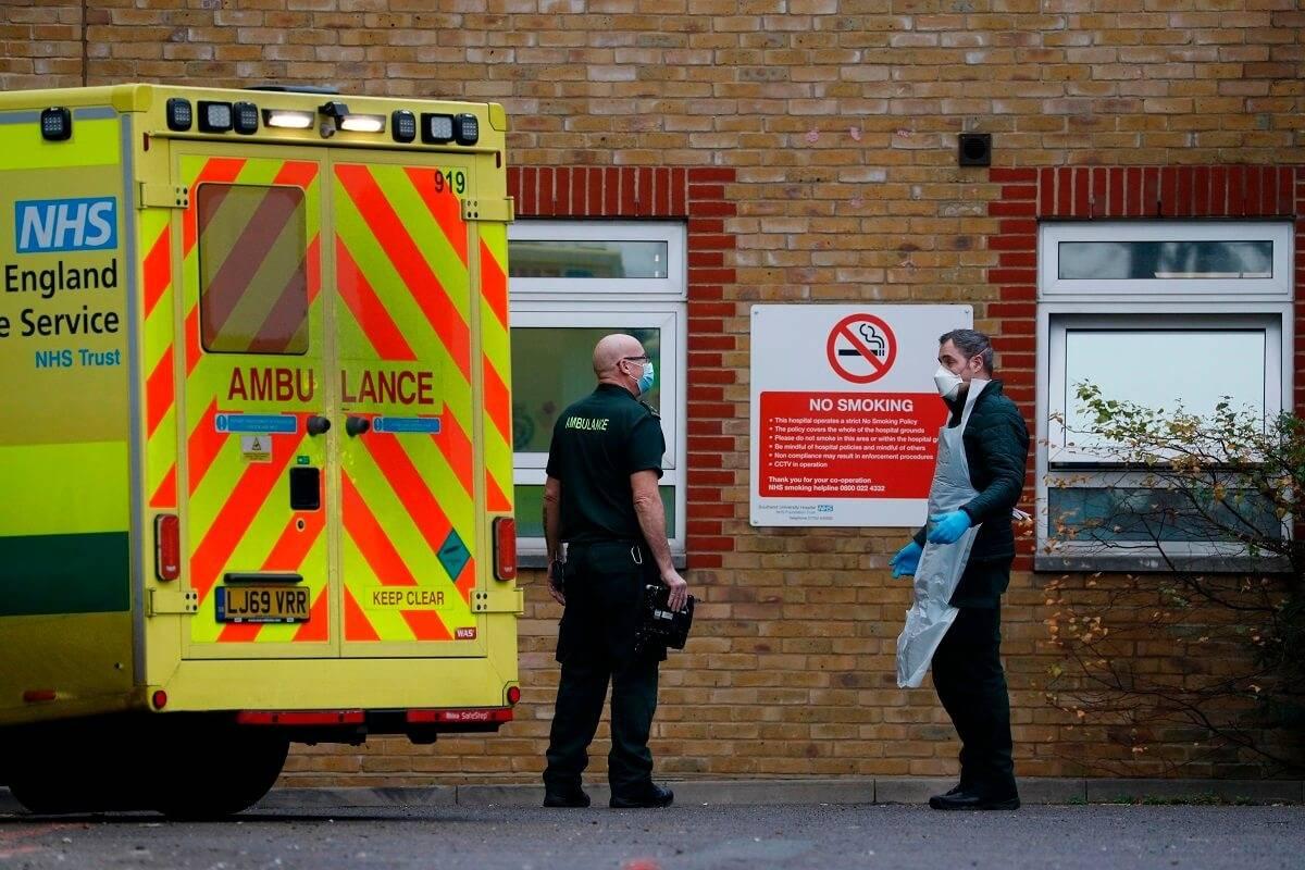 Kończą się zapasy tlenu w szpitalu Southend. Rządowy doradca medyczny ostrzega, że NHS stoi na skraju kryzysu