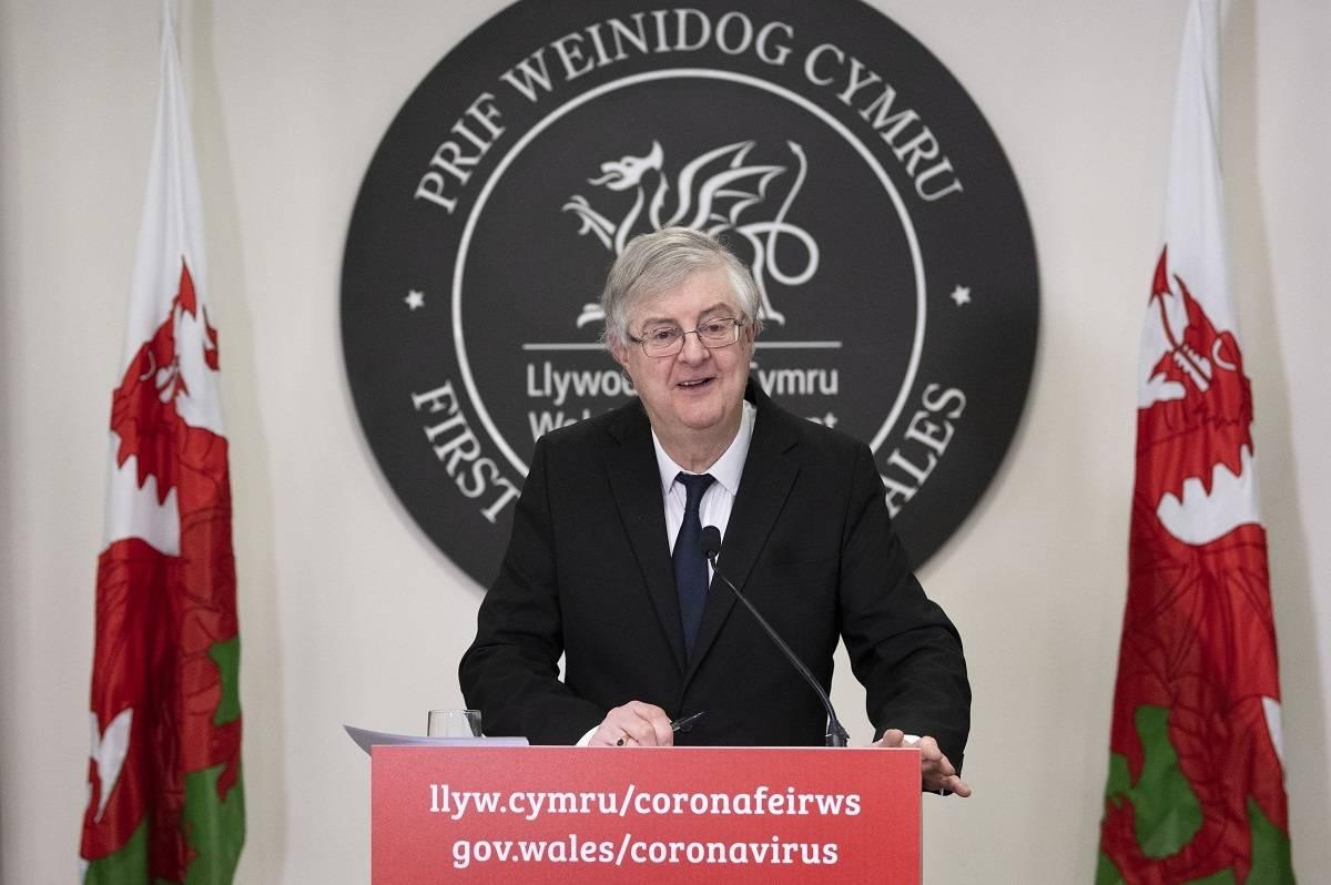 Mark Drakeford wyklucza całkowite zniesienie restrykcji po 21 czerwca 2021 w Walii