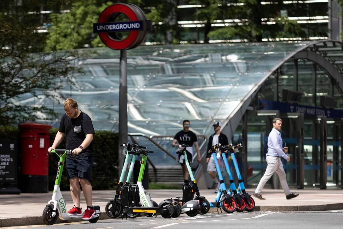E-hulajnogi już dostępne w Londynie. Ile kosztuje wypożyczenie i jakie są reguły dla użytkowników?