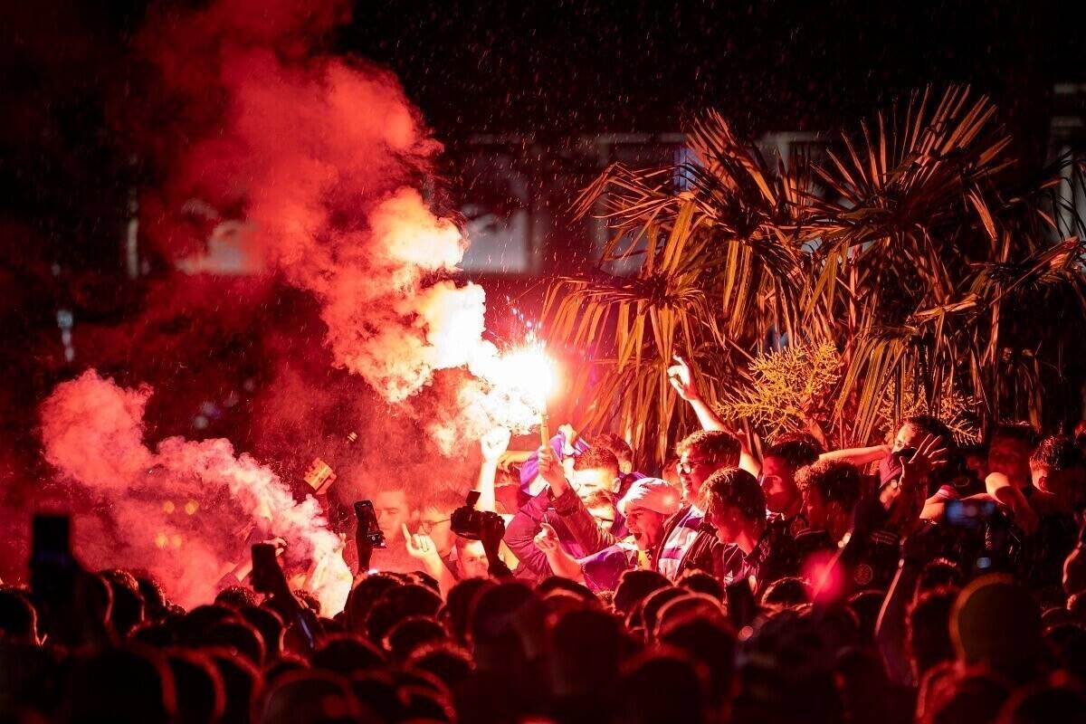 Euro 2020: Policja w Londynie aresztowała 30 kibiców po meczu Anglia - Szkocja