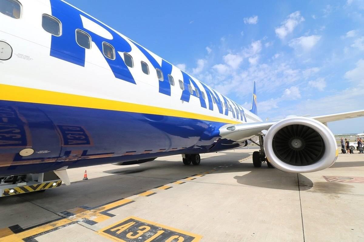 Pasażer Ryanaira zmarł w trakcie lotu z Manchesteru do Malagi 35 000 stóp nad ziemią