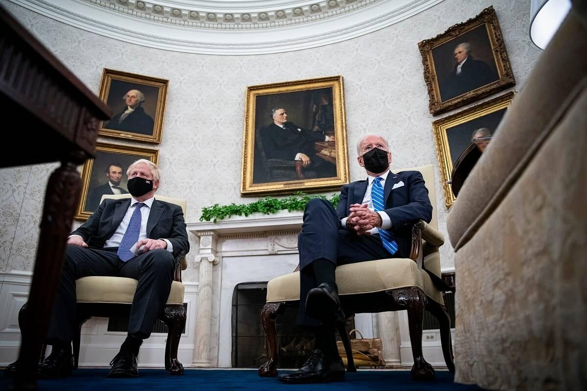 Joe Biden rozwiał nadzieje na szybką umowę handlową między UK i Stanami Zjednoczonymi w czasie spotkania z Borisem Johnsonem